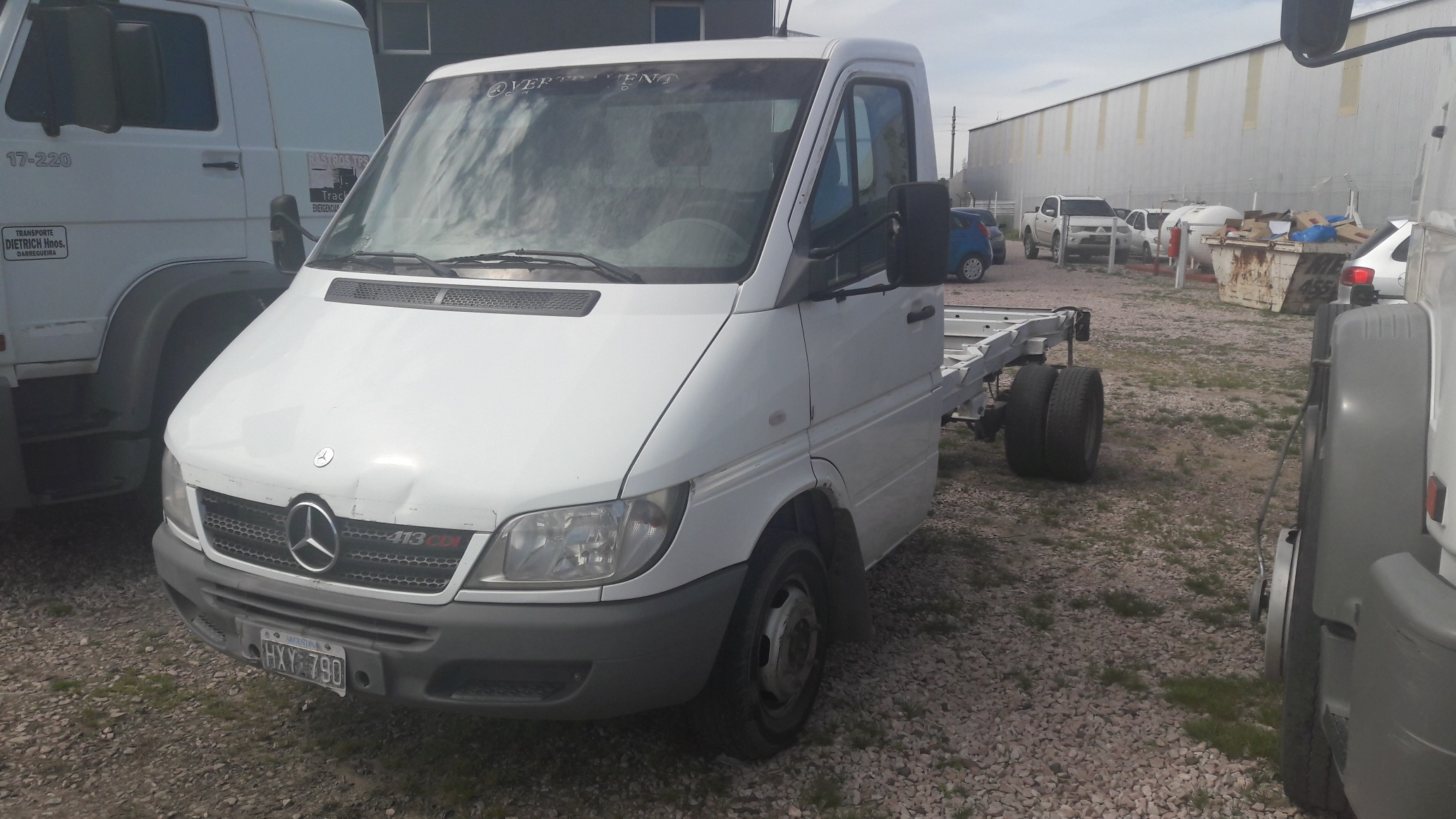 MERCEDES BENZ SPRINTER 413 CHASIS