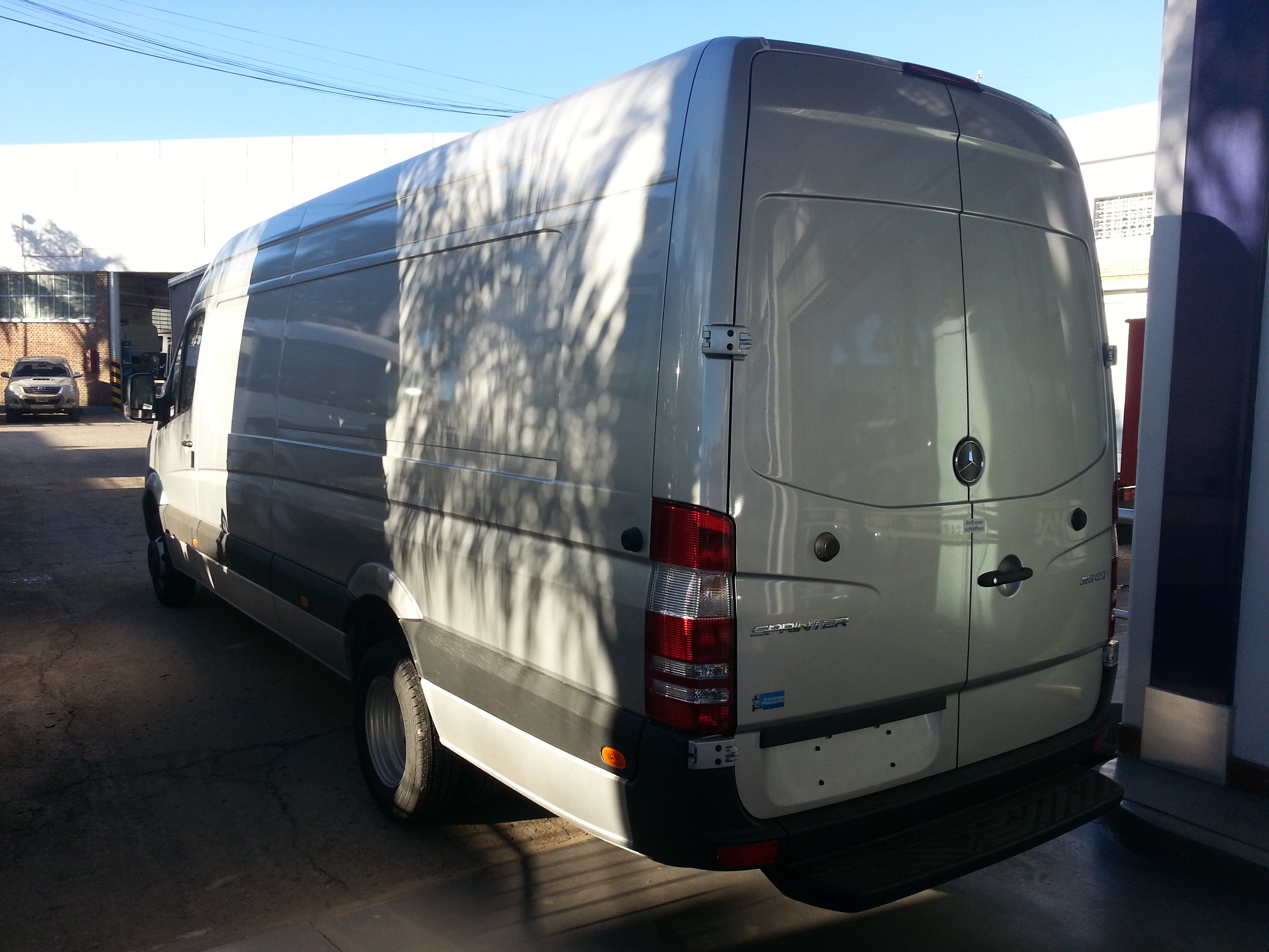 MERCEDES BENZ SPRINTER FURGON