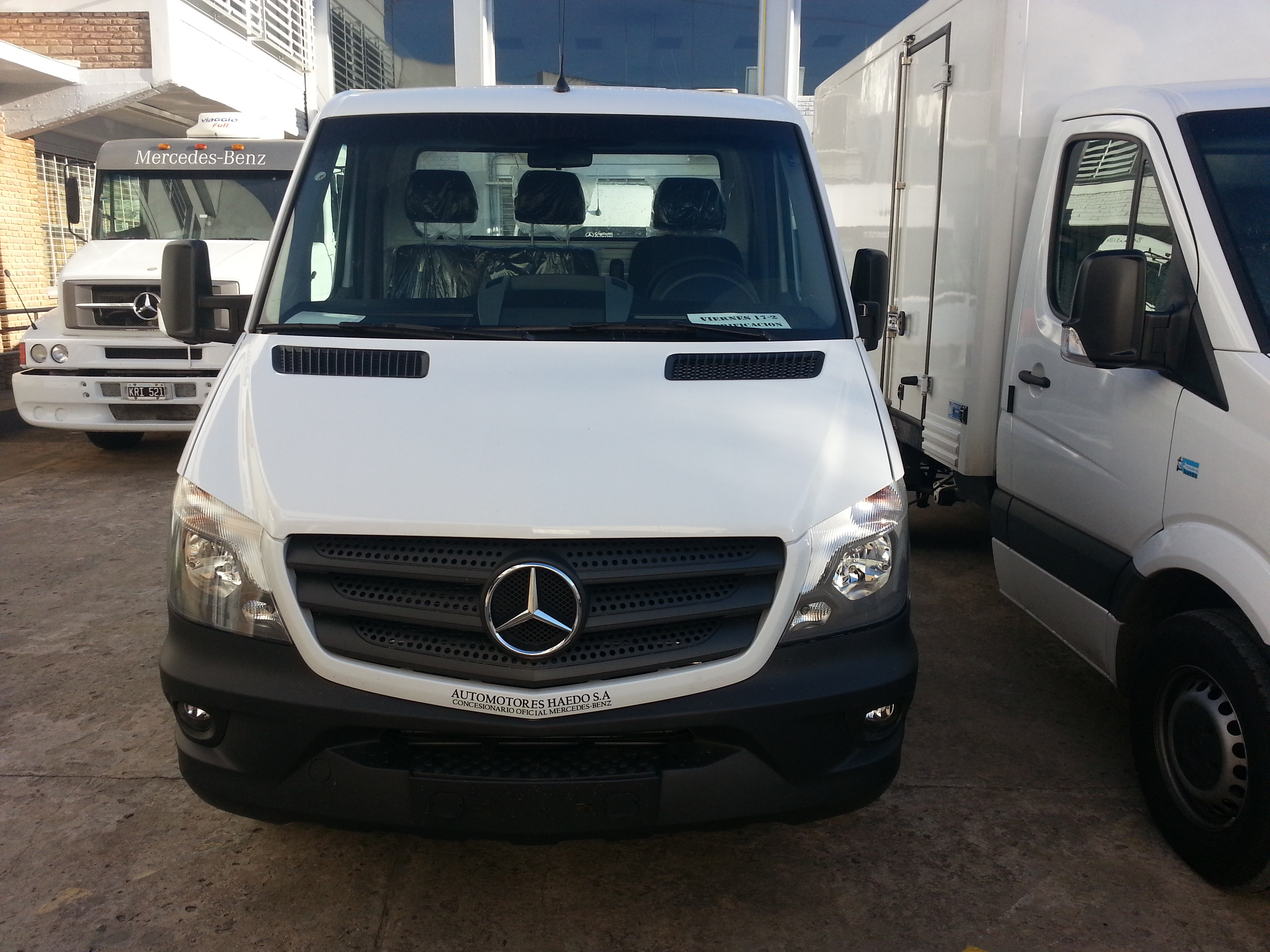 MERCEDES BENZ SPRINTER CHASIS