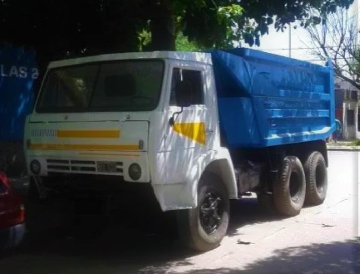 Camion Kamaz Tatu Volcador Impecable – 6×4 – Gran oportunidad