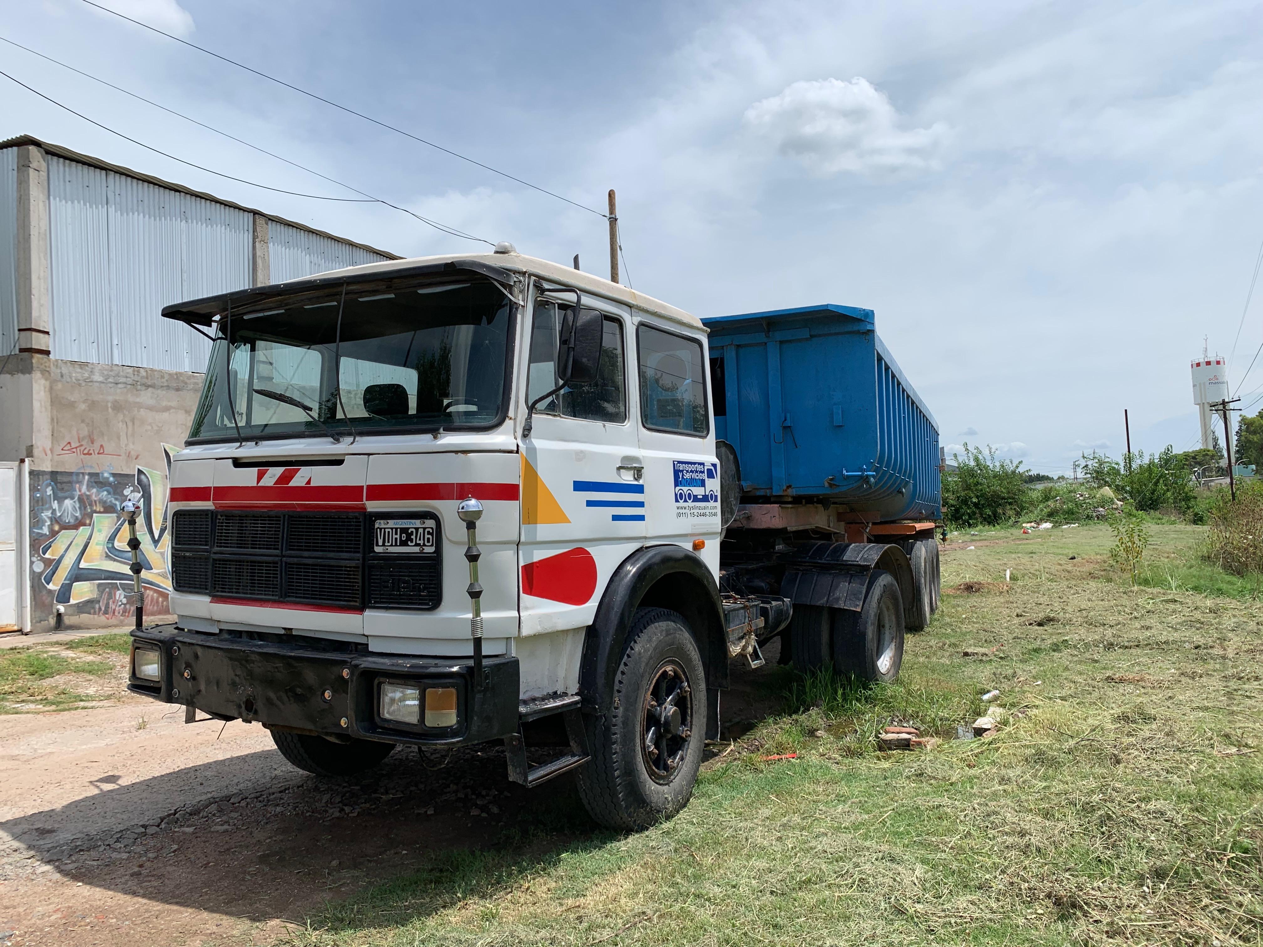 Camion Tractor Fiat 619 N1 Motor 0km Excelente estado