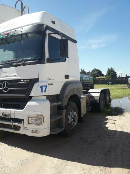 Mercedes Benz…20.35…año 2010…6×2…con eje Boero 1.700.000