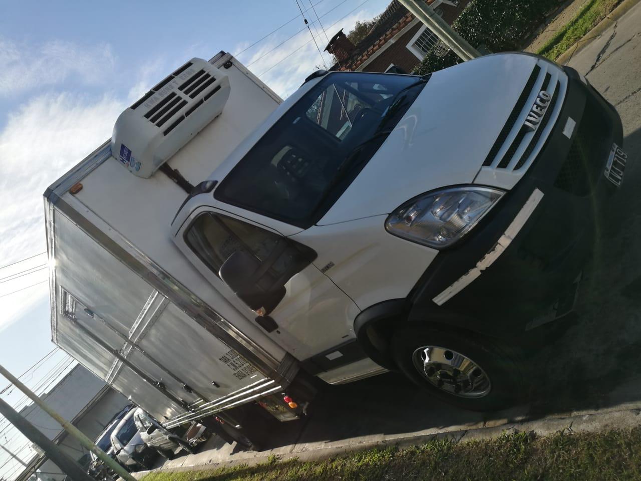Vendo o permuto iveco daily 70c16 furgon trmico, equipo de frio y pala para congelados