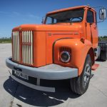 Scania L 111 – El yacaré naranja