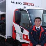 Hino Motors presentó sus Taller Móviles