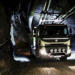 Volvo prueba un FMX autónomo en una mina