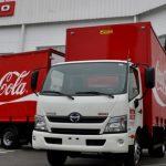 Coca-Cola incorpora camiones Hino