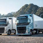 Dos nuevos camiones Volvo bajo norma Euro 6