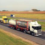 Restricciones de circulación para camiones por el año nuevo