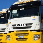 Dos Iveco Stralis para empresa de transporte de zona norte