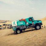 Podio de Iveco en la segunda etapa del Rally Dakar 2018