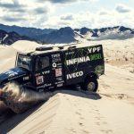 Villagra e Iveco encabezan la clasificación general del Dakar 2018