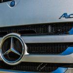 Del camión Mercedes-Benz a la playa