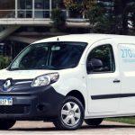 Renault Kangoo Z.E, el primer vehículo eléctrico del país