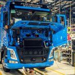 Volvo aumenta su producción en la planta brasileña de Curitiba